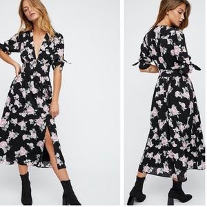 Free People Love Of My Life Midi Dress M
